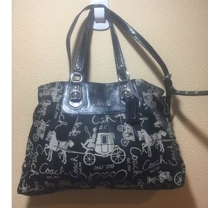 Coach Ashley purse # G1051-F15656 preowned
